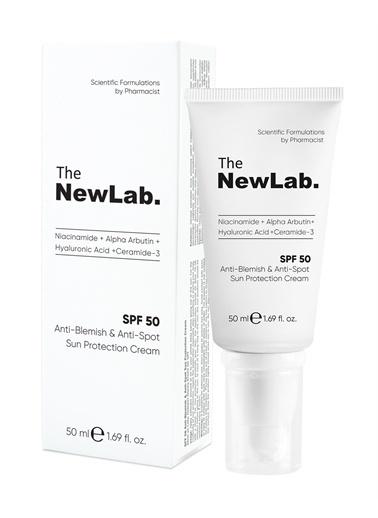 The NewLab  Anti-Blemish Akne ve Leke Önleyici Güneş Kremi (50 SPF)  Renksiz